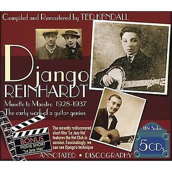Django Reinhardt - Musette til Maestro 1928-1937 [CD] USA import
