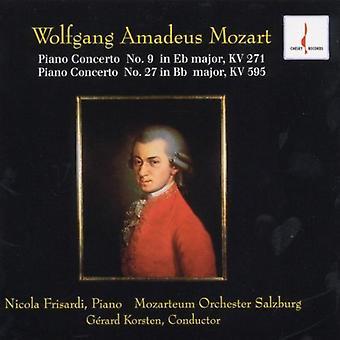 W.a. Mozart - Mozart: Klaverkoncert No. 9; Klaver Concerto nr. 27 [CD] USA importerer