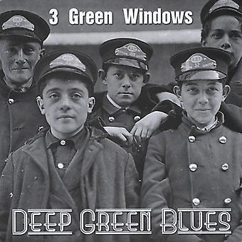 3 Green Windows - Deep Green Blues [CD] USA import