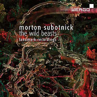 Subotnick, M. / Bartholemew, Alan / Subotnick, Martin - Wild Beasts - After the Butterfly [CD] USA import