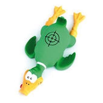 Freedog Toy with duck design for your pet green and red (Dogs , Toys & Sport , In latex)