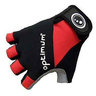 Optimum Fingerless Road Cycling Gloves [black]