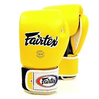 Fairtex Boxing Gloves 3 Tone - Yellow