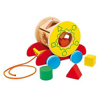 Legler Basket Of Motor To Pull (Toys , Preschool , Puzzles And Blocs)