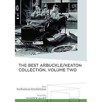 Bedste Arbuckle / Keaton [DVD] USA import