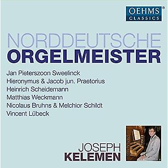 Bruhns, N. / Kelemen, Joseph - Noord Duitse orgel Masters [CD] USA import