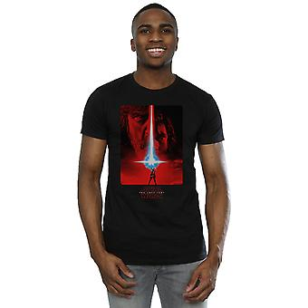 Star Wars Men's The Last Jedi Red Poster T-Shirt