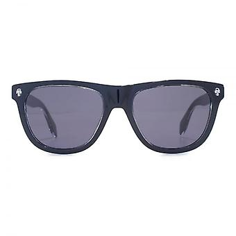 Alexander McQueen Ghost Skull Retro Style Sunglasses In Black