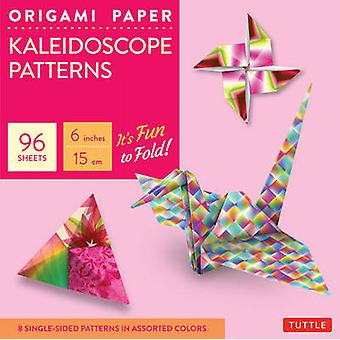Origami Paper  Kaleidoscope Patterns  6   96 Sheets by Tuttle Publishing