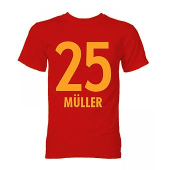 Thomas Muller Bayern Munich Hero T-Shirt (Red)
