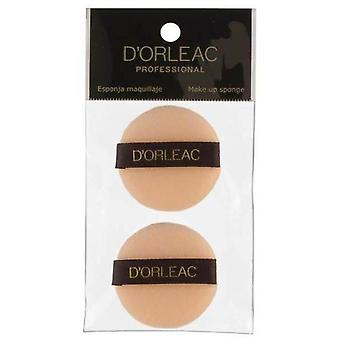 D'Orleac Borla Support - Pack 2 pcs. (Femme , Maquillage , Brush)