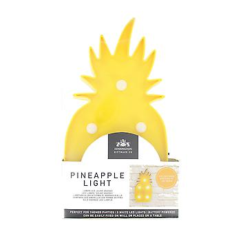 Home Eye Catching Gift Wear LED Yellow Pineapple Wall Lamp Light