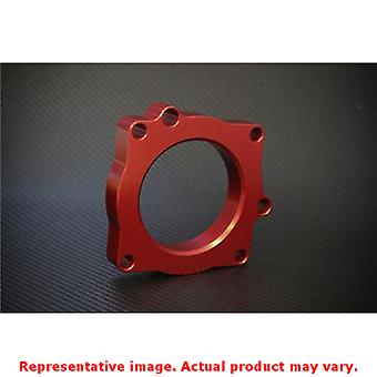 Torque Solution Throttle Body Spacer TS-TBS-001R Red Fits:DODGE 2011 - 2012 CHE