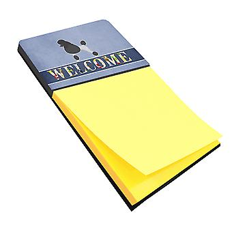 Carolines Treasures  BB5543SN Poodle Welcome Sticky Note Holder