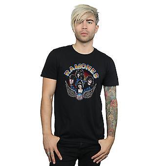 Ramones Men's Vintage Wings Photo T-Shirt