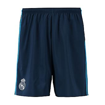 2015-2016 Real Madrid Third Adidas Shorts (Nacht Indigo) - Kids