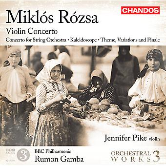 Miklos Rozsa - Mikl S R Zsa: Violin Concerto [CD] USA import