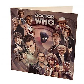 Doctor Who leere Karte