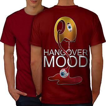 Weird Hangover Cool Men RedT-shirt Back   Wellcoda