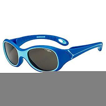 (CLR)Cebe S Kimo 1 to 3 Yrs Kids Sunglasses (1500 Grey Blue Light Lens Marine Frame)