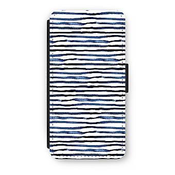 iPhone 8 Plus Flip Case - förvånande linjer