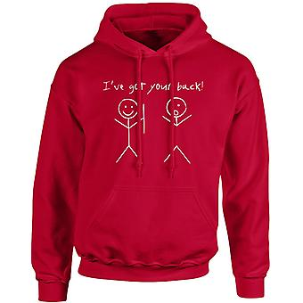 I've Got Your Back Funny Unisex Hoodie 10 Colours (S-5XL) by swagwear