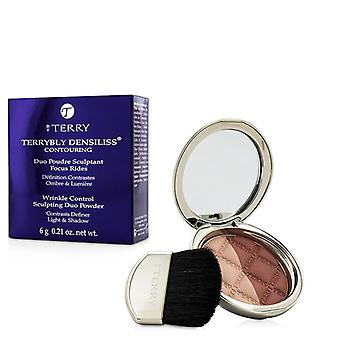 By Terry Terrybly Densiliss Blush Contouring Duo Powder - # 400 Rosy Shape 6g/0.21oz