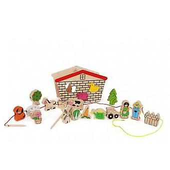 Legler Farm To Thread (Babies and Children , Toys , Educative And Creative , Motricity)