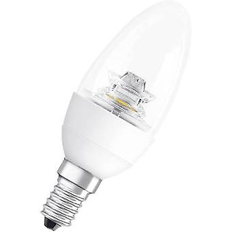 OSRAM LED (monochrome) E14 Candle 6 W = 40 W Warm white (Ø x L) 39 mm x 144 mm EEC: A+ dimmable 1 pc(s)
