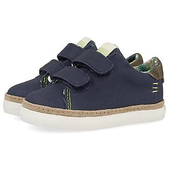 Gioseppo Boys 44048 Canvas Shoes Navy Blue