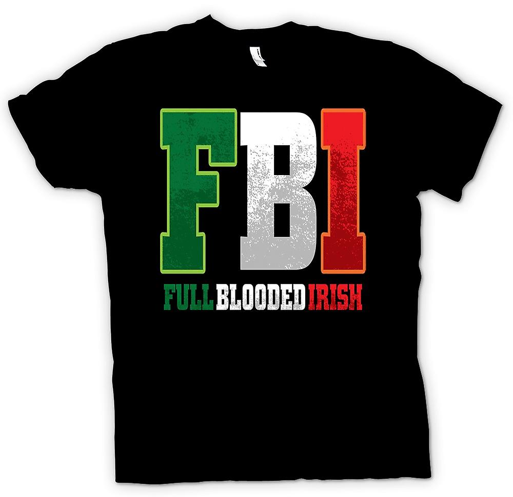 Womens T-shirt - St Patricks Day - FBI - Vollblut-irisch