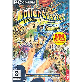 Rollercoaster Tycoon 3 trempé ! Expansion Pack (PC CD)