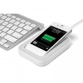 Bluelounge Saidoka non-slip dock iPhone 3GS 4 / 4 S in white