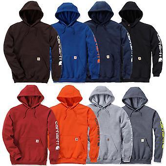 Carhartt sweater sleeve logo hooded K288