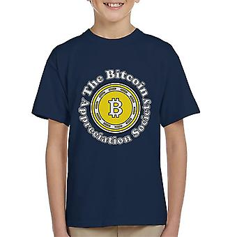 The Bitcoin Appreciation Society Kid's T-Shirt