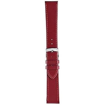 Morellato Strap Only - Sprint Napa Leather Red Berry 18mm A01X2619875081CR18 Watch