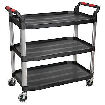 Sealey Cx310 3-niveau samengestelde Workshop Trolley