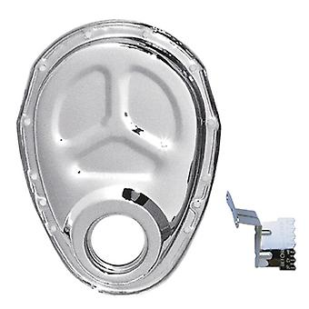 Trans-Dapt 4934 Chrome Timing Chain Cover with Tab