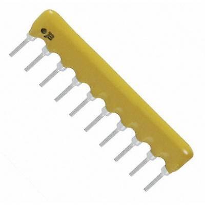 Resistor ladder 330 Ω Radial lead SIP 10 0.2 W Bourns 4610X-101-331LF 1 pc(s)