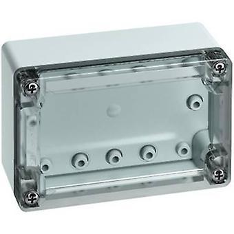 Build-in casing 122 x 82 x 55 Acrylonitrile butadiene styrene Light grey (RAL