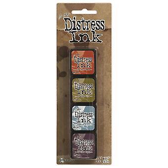Distress Mini inkt Pads 4/Pkg-Kit 8
