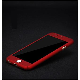 Samsung Galaxy J5 2016 cell phone case protective case cover tank protection glass Red