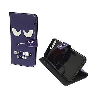 Etui de téléphone mobile de poche pour téléphone Apple iPhone 7 plus ne touche pas mon téléphone