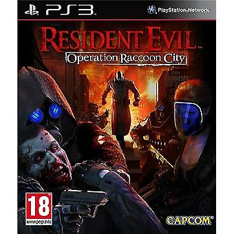 Resident Evil Operation Raccoon City PS3 Game