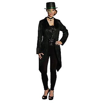 Spinning Tailcoat black Tailcoat costume for women