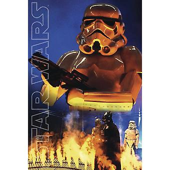 Star Wars poster Stormtrooper collage