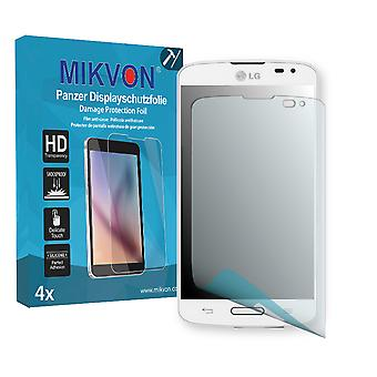 LG F70 Screen Protector - Mikvon Armor Screen Protector (Retail Package with accessories)