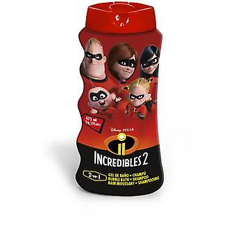 Lorenay Bath Gel 2 in 1 The Incredibles 2 475 ml