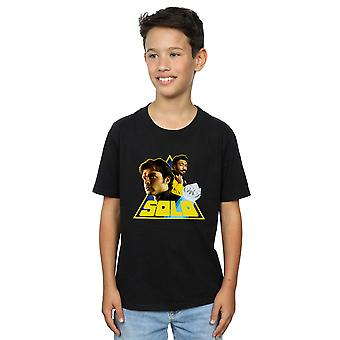 Star Wars gutter Solo Retro trekant t-skjorte