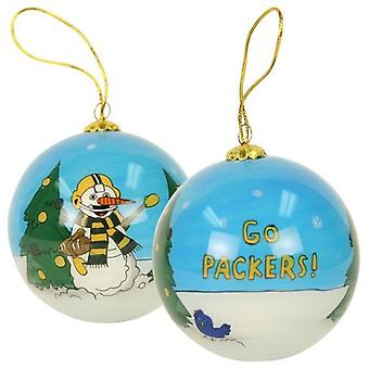 Green Bay Packers NFL Hand geschilderd Ornament